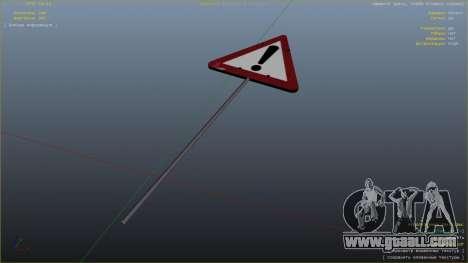 GTA 5 Road sign seventh screenshot