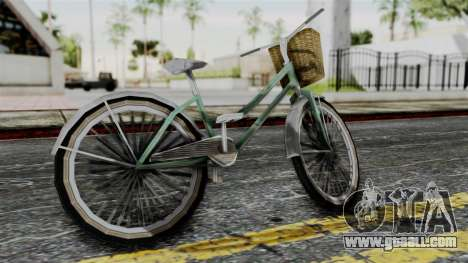 Olad Bike from Bully for GTA San Andreas left view