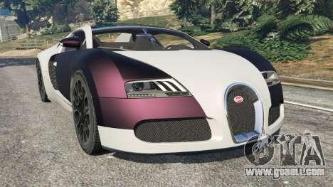 Bugatti Veyron Grand Sport v4.0 for GTA 5