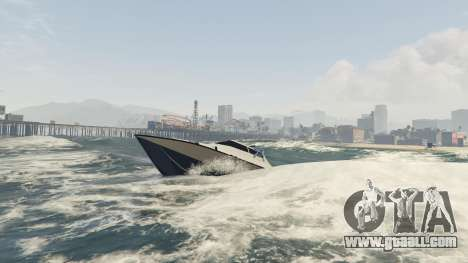 GTA 5 Improved boat Suntrap fifth screenshot