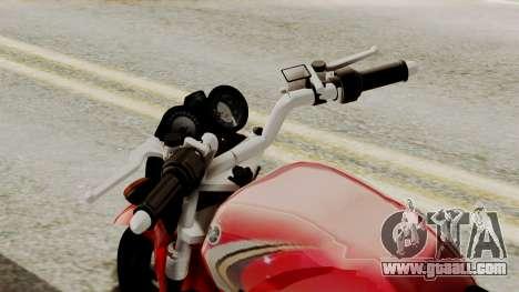 Yamaha YBR Imitacion for GTA San Andreas right view