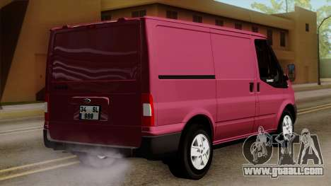 Ford Transit for GTA San Andreas left view