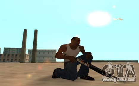 Asiimov Weapon Pack v2 for GTA San Andreas sixth screenshot