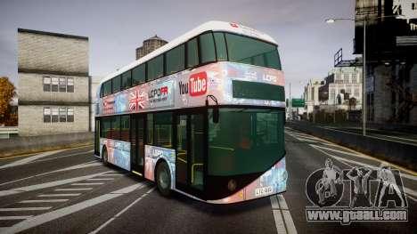 Wrightbus New Routemaster for GTA 4