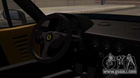 Ferrari F40 1987 HQLM for GTA San Andreas right view