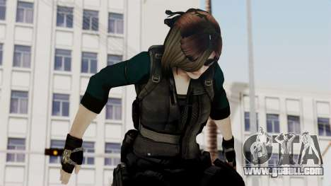 Christy Battle Suit (Resident Evil) for GTA San Andreas