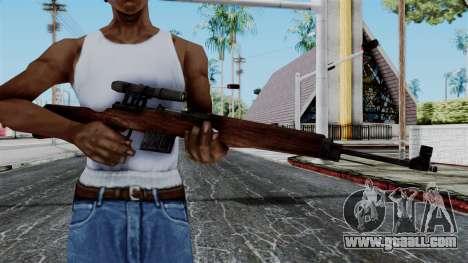 Gewehr 43 ZF from Battlefield 1942 for GTA San Andreas third screenshot