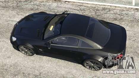 GTA 5 Mercedes-Benz SL 65 AMG Black Series back view
