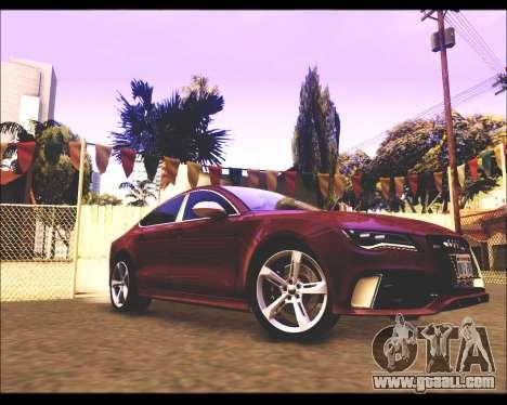 REXAS ENB v1 for GTA San Andreas