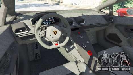 Lamborghini Huracan 2015 for GTA 5