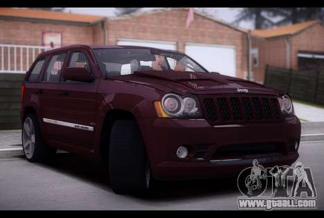Jeep Grand Cherokee SRT8 2008 for GTA San Andreas back left view