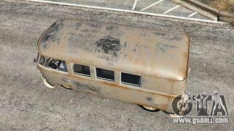 Volkswagen Transporter 1960 rusty [Beta] for GTA 5