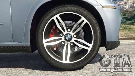 GTA 5 BMW X5 M (E70) 2013 v1.01 rear right side view