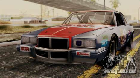 Pontiac GranPrix Hotring 1981 No Dirt for GTA San Andreas