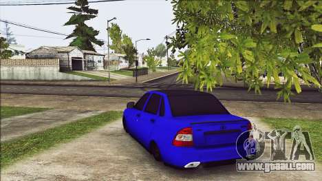 VAZ 2170 Vip Style for GTA San Andreas back left view