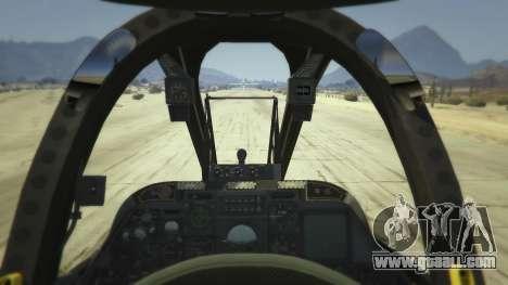 GTA 5 A-10A Thunderbolt II 1.1 second screenshot
