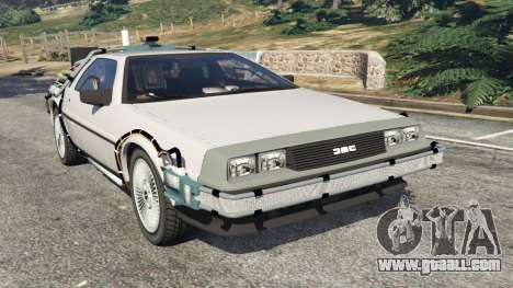 DeLorean DMC-12 Back To The Future v0.3 for GTA 5