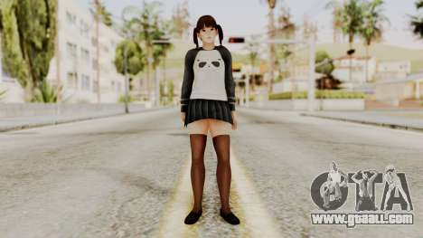 DOA 5 LeiFang Panda T-shirt for GTA San Andreas second screenshot