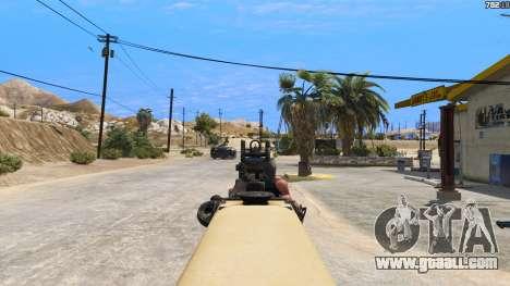 GTA 5 TAR-21 из Battlefield 4 sixth screenshot
