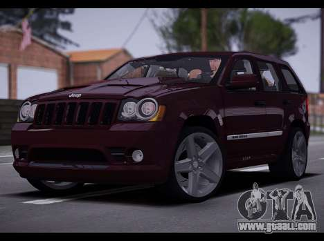 Jeep Grand Cherokee SRT8 2008 for GTA San Andreas left view