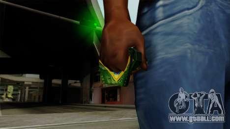 Brasileiro Thermal Goggles v2 for GTA San Andreas third screenshot