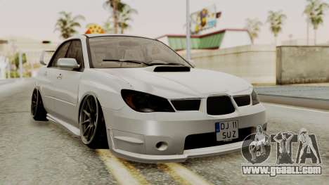 Subaru Impreza WRX STI HQ for GTA San Andreas