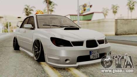 Subaru Impreza WRX STI HQ for GTA San Andreas