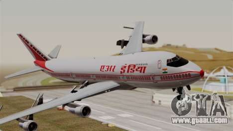 Boeing 747-200 Air India VT-ECG for GTA San Andreas