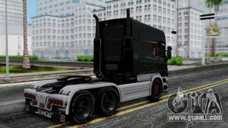 Scania R580 Longline Custom Showtruck 2008 for GTA San Andreas left view