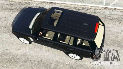 GTA 5 Range Rover Supercharged back view