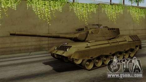 Leopard 1A5 for GTA San Andreas