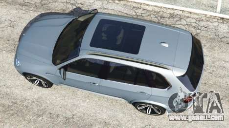 GTA 5 BMW X5 M (E70) 2013 v1.01 back view