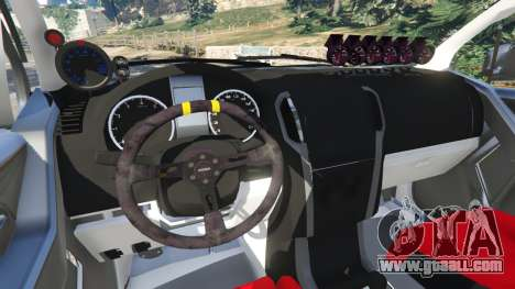 GTA 5 Isuzu D-Max right side view