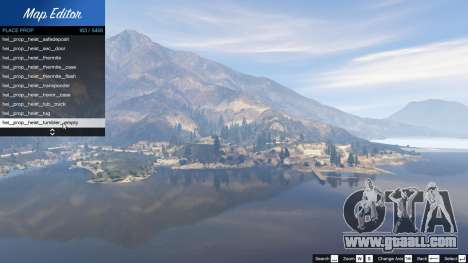 Map Editor 1.5 for GTA 5