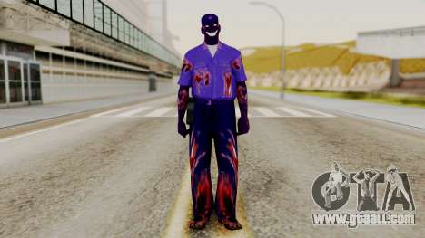 FNAF Purple Guy for GTA San Andreas second screenshot