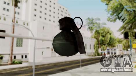 Frag Grenade from Delta Force for GTA San Andreas third screenshot
