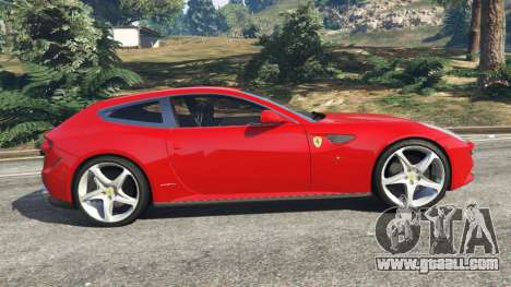 GTA 5 Ferrari FF left side view