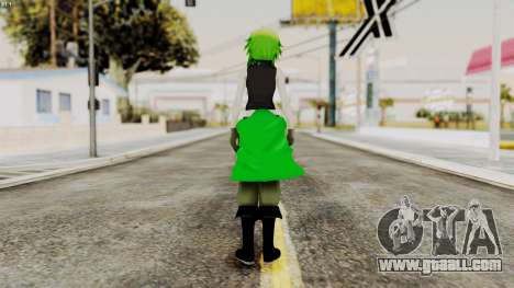Gumi Love Is War (Vocaloid) for GTA San Andreas third screenshot