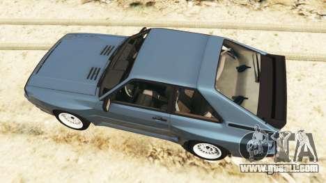 GTA 5 Audi Sport quattro v1.1 back view