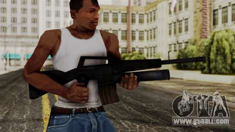 M16 from Delta Force for GTA San Andreas third screenshot
