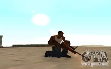 Nitro Weapon Pack for GTA San Andreas forth screenshot