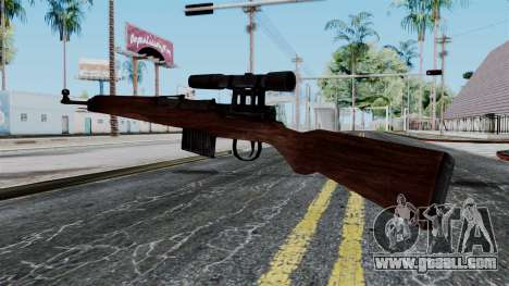 Gewehr 43 ZF from Battlefield 1942 for GTA San Andreas second screenshot