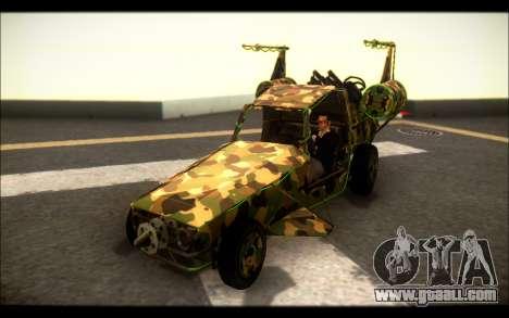 Camo Space Docker for GTA San Andreas