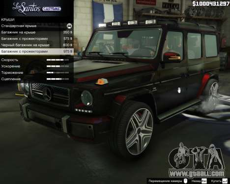 Mercedes-Benz G65 AMG for GTA 5
