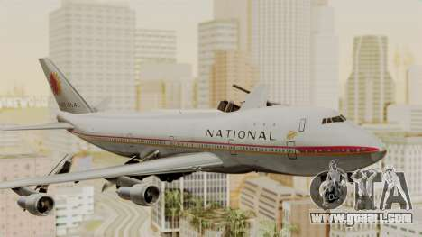 Boeing 747-100 National Airlines for GTA San Andreas