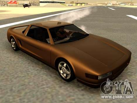 Infernus PFR v1.0 final for GTA San Andreas