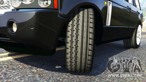 GTA 5 Range Rover Supercharged right side view