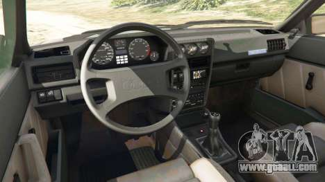 GTA 5 Audi Sport quattro v1.1 right side view