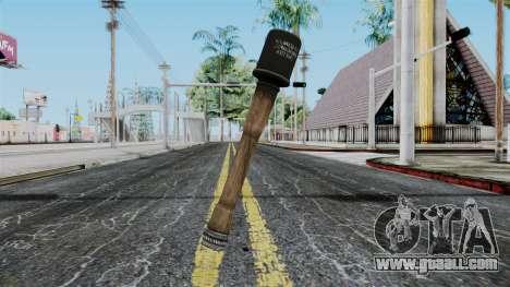 German Grenade from Battlefield 1942 for GTA San Andreas
