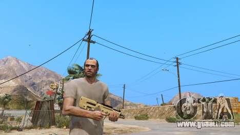 GTA 5 TAR-21 из Battlefield 4 second screenshot